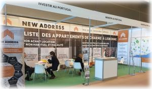 Participation de New Address au Salon de l'Immobilier Portugais à Paris